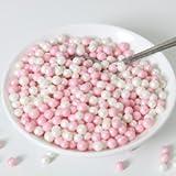 Funckes Soft Zuckerperlen, pink/weiß - 60g
