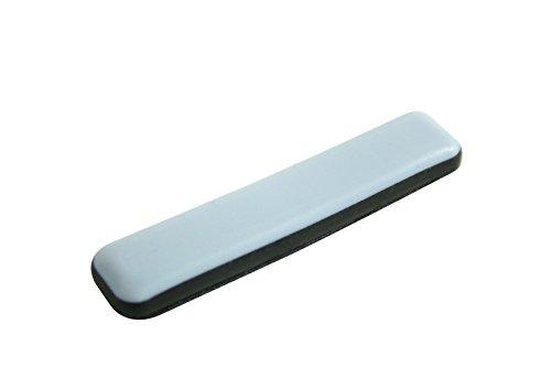 GLEITGUT 16 x Teflongleiter selbstklebend rechteckig 16 x 75 mm - Möbelgleiter mit PTFE-Gleitfläche für Freischwinger mit Flachstahl (Für Rückenschmerzen Besten Stuhl)