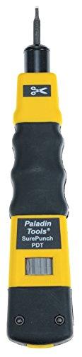 Paladin Werkzeuge PA3571SurePunch-Anlegewerkzeug mit Kombi-Klinge -