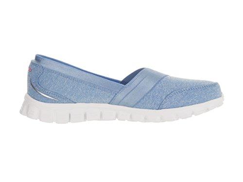 Skechers Ez Flex 2 quipster, Scarpe da Ginnastica Donna Light Blue