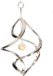 Home2Garden Giravento Crystal Nova, Scultura da Giardino con Cristallo