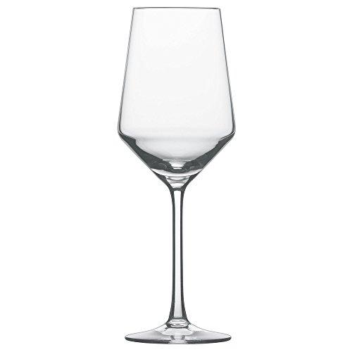 Schott Zwiesel 112412 Serie Pure 6-teiliges Sauvignon Blanc Weißweinglas Set, Kristallglas