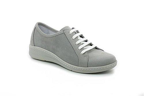 GRÜNLAND Erri, Sneaker Donna Grigio