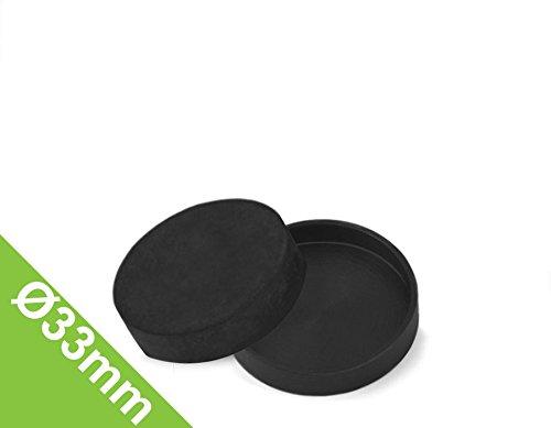Gummi-Kappe Ø 33 mm, Manschette zum Schutz von Oberflächen (Gummi-kappe)