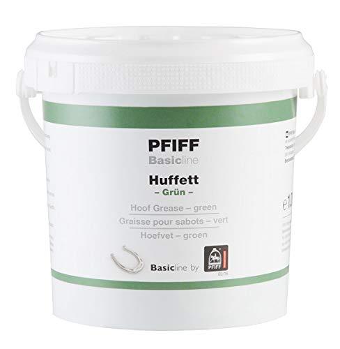Pfiff Basicline Huffett, Pferde Hufpflege, Lorbeerextrakt, Wachse, grün, 1000 g