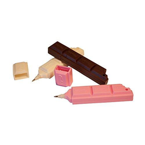 Kugelschreiber-Set Schokolade 3-farbig
