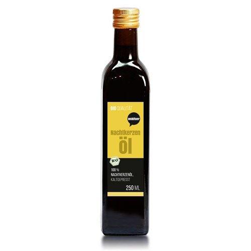Wohltuer Bio Nachtkerzenöl 250ml - Nativ gepresst und 100% rein - Natur pur (250ml) (Essen Bio-perfekte Leben)