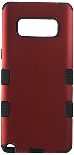 MyBat Samsung-Galaxy Note 8Titanium rot/schwarz TUFF Hybrid Phone Schutzfolie Cover [Military Grade Zertifiziert]