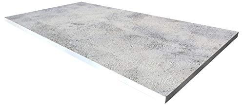 Cuadros Lifestyle Design-Tisch/Schreibtisch/hochwertige Tischplatte/Esstisch/Arbeitstisch/Bürotisch/Steinoptik/DIY/in Zwei Größen erhältlich/ab 149 Euro, Größe:200×100 cm