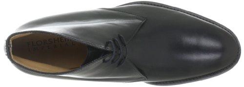 Florsheim RUSSELL 50934-01 Herren Klassischer Schnürer Schwarz (Black Calf)
