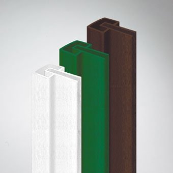 Videx-Coventry Rahmenprofil, L: 115 cm, weiß