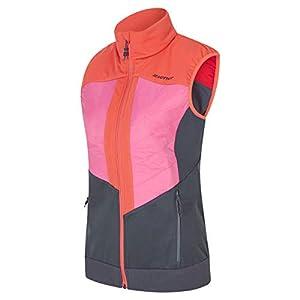 Ziener Niya Lady 19/20 Damen Hybrid Softshell Funktions Weste Primaloft M194175 Muster Einzelstück pink Dahlia