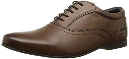 Base London - Galactic, Scarpe stringate Uomo Marrone (Marron (Waxy Brown))