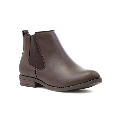Lilley Womens Brown Matte Effect Chelsea Boot - Size 5 UK -...