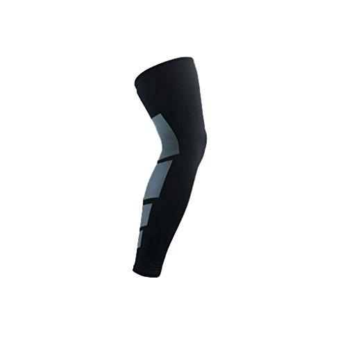 1x lange Art Knie Kompression Hülse Knie Leistung Kompressionsstrumpf für Knie Schmerzlinderung Pandiki -