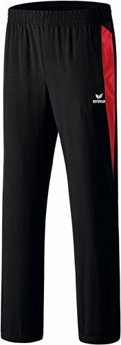 Erima Kinder Anzug Premium One Präsentationshose Schwarz/Rot, 152 Preisvergleich