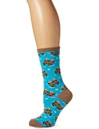 Socksmith Significant Otter, Chaussettes Femme, Blue (Bright Blue Bright Blue), Taille Unique