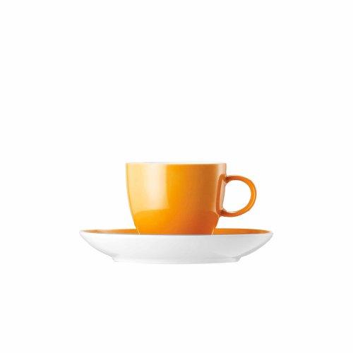 Thomas 10850-408505-28255 Set 2 Espressotassen Sunny Day Orange