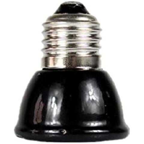Mini-emisor Lámparas Cerámica Infrarroja Criadora Reptil Bombilla Bajo Como Mascota Iluminación - 100w