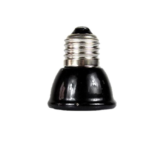 F Fityle E27 40W Keramik Infrarot Wärmelampe Wärmestrahler Porzellan Glühbirne für Reptilien - Reptilien Infrarot-wärme-lampe