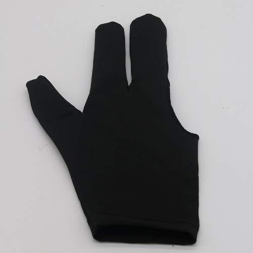 FairOnly 3 Finger Handschuh Linke Hand Billard Handschuhe Yoyo Handschuhe Schutz Schutz YoYo Schwarz