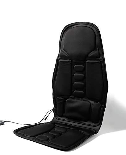 XiMige NatüRliche Akupressurmatte, Dual-Use-GanzköRpermassage, Liegende Dual-Use-Simulationsmassage, Manuelle Steuerung Mit Mehreren Geschwindigkeiten, Ergonomisches Design, Schwarz