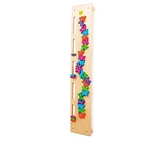 Erzi 112 x 24 x 8,3 cm alemán juguete de madera de apilamiento Junta Ghost