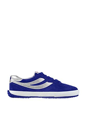 Superga 2832- SUEU S001H60 Unisex - Erwachsene Fashion Sneakers Blau/Intense Blu- Silver