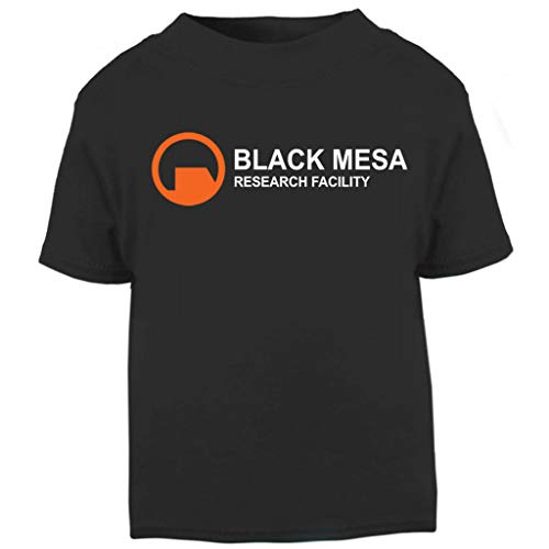 (Black Mesa Research Facility Half Life Baby and Toddler Short Sleeve T-Shirt)