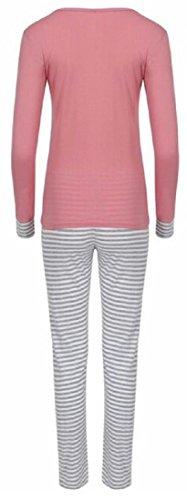 2b6a3d9683 Womens Loungewear Set Snoopy Mickey Mouse Print Pyjama Top Cotton ...