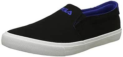 Fila Men's Oriel Blk/Blu Lot Sneakers-8 UK/India (42 EU) (11006468)