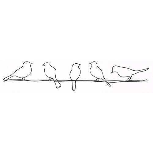 Graham U0026 Brown 41 221 Bird On A Wire Metal Wall Art