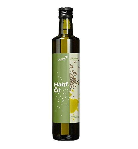 LAIA\'S Bio Hanföl (250 ml)