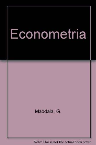 Econometria por G. Maddala