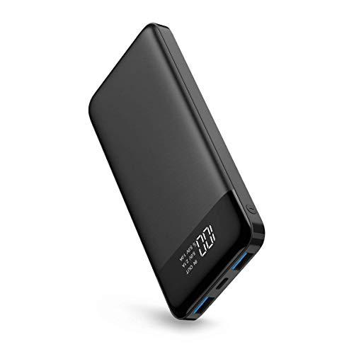 Powerbank 10400mAh Batería Externa USB C Power Bank