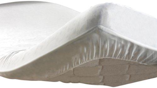 Douceur d'Intérieur 1047112 - Coprimaterasso anti-acaro in spugna PEVA 160 x 200 cm
