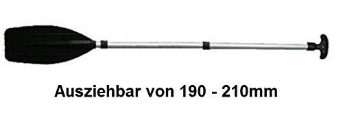 Stand Up Paddel 2,10m aus Leichtmetall Legierung