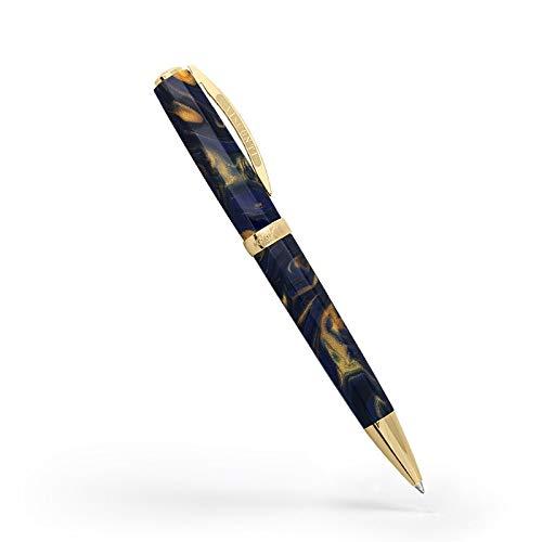 Visconti - Penna a sfera Medici, colore: Blu dorato