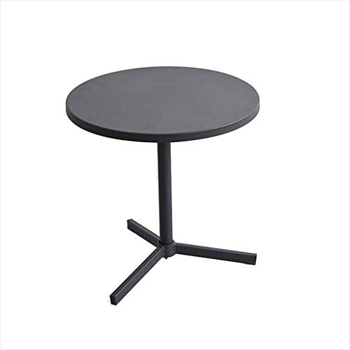 Life tavolino rotondo, tavolino da salotto in ferro tavolo da telefono tavolo da pranzo tavolo da computer 45 * 45 * 45cm