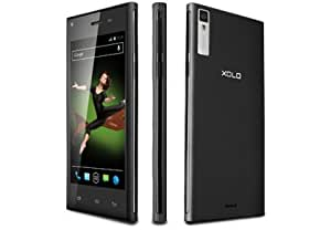 Xolo Q600S 8 GB Black Mobile Phone With Android Kitkat 4.4