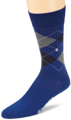 Burlington Herren Socken 21182 Edinburgh SO, Gr. 40-46, Blau (royal blue 6051)