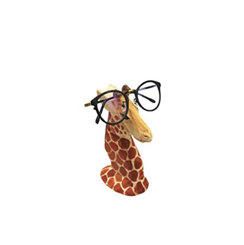 Brillenständer, Brillengestell Halterung Sonnenbrille Ständer Tier Kreative Massivholz Schmuck Geschenk Brillen Shop Dekoration,B
