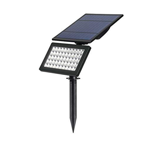 Lampada solare wireless da esterno, 5w luci solari, illuminazione giardino, lampioni da giardino solari impermeabile con sensore automatico attiva crepuscolare, per casa, cortile, albero (luce bianca, 6000k)
