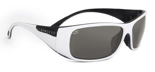 Serengeti Larino Sonnenbrille, Farbe Objektiv-Polar PHD CPG Objektiv-, Klasse 2-3, Weiß