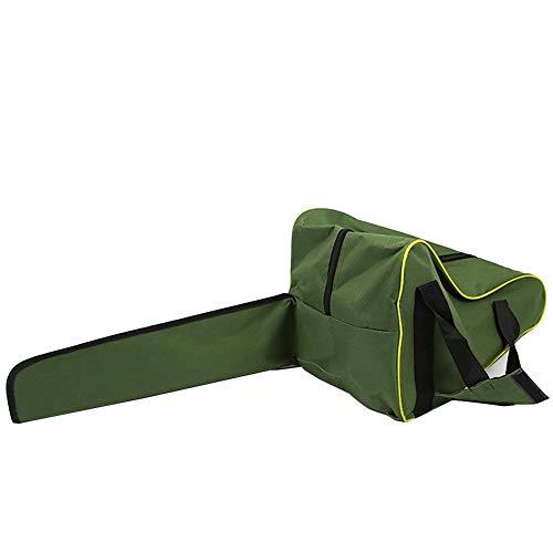 Bolsa de transporte para motosierra de 35 cm, color verde militar, resistente, impermeable, con cadena...