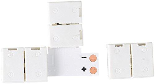 Lunartec Zubehör zu LED-Strips-Bänder: T-Verbindungsstück für LED-Streifen der Serie LE (LED Leuchtstreifen)