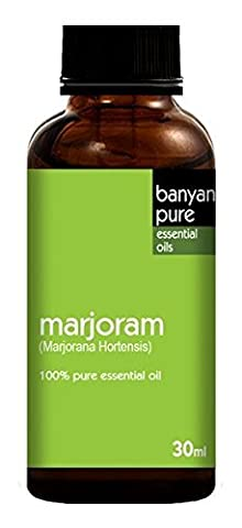 Sweet Marjoram 100% Pure Therapeutic Grade Essential Oil by Banyan Pure - 30 ml