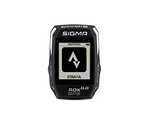 Sigma ciclocomputer Rox 11.0 GPS Nero