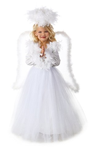 Princess Paradise Premium Annabelle The Angel Costume, Small/6, One Color