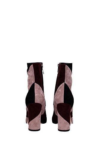 G7062500RICCAMBRRO Gianvito Rossi Chaussure mi montantes Femme Chamois Multicouleur Multicouleur